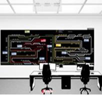 Laser video walls